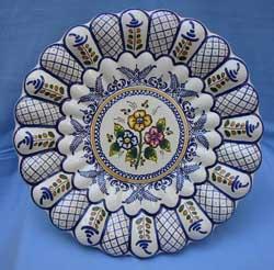 Platos hechos a mano cer mica de talavera de la reina - Talavera dela reina ceramica ...